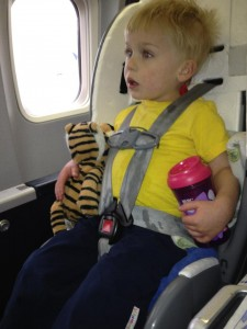 Travel with a sick child
