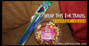 Cheap Toys for Travel: Stopper Beads
